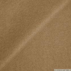 Drap de laine léger camel