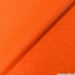 100% Lin mandarine