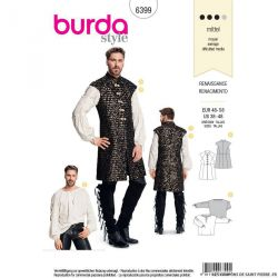 Patron Burda n°6399: Renaissance
