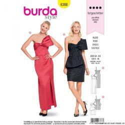 Patron Burda n°6388: Robe
