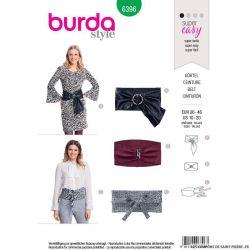 Patron Burda n°6396: Ceinture