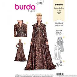 Patron Burda n°6398: Renaissance