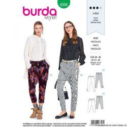 Patron Burda n°6358: Pantalon