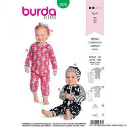 Patron Burda n°9328: combinaison