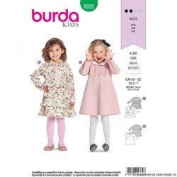 Patron Burda n°9332: Robe