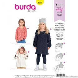 Patron Burda n°9331: Robe et T-shirt