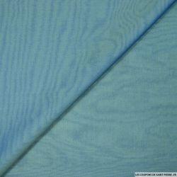 Mousseline de Soie changeant bleu et beige
