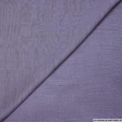 Mousseline de Soie changeant violet et noir