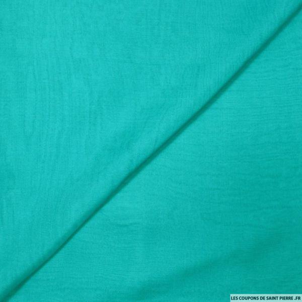 Mousseline de Soie turquoise
