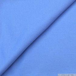 Molleton de laine bleuet