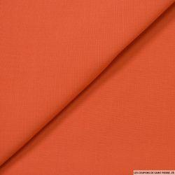 Crêpe de laine rouille