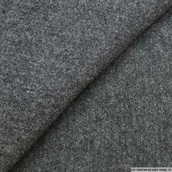 Laine gris chiné