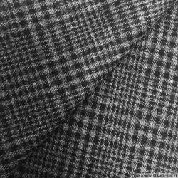 Clan laine gris et noir
