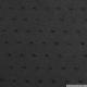 Voile de coton Plumetis noir