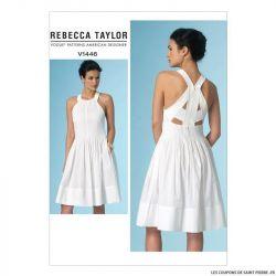 Patron Vogue V1446 : Robe