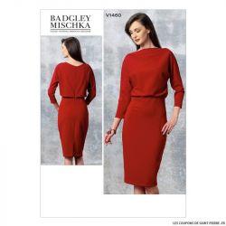 Patron Vogue V1460 : Robe