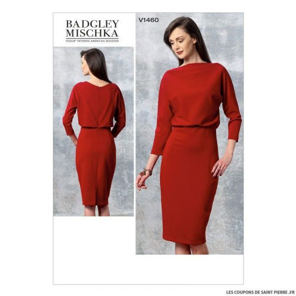 Patron Vogue V1460 : Robe