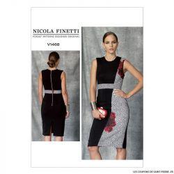 Patron Vogue V1468 : Robe