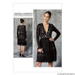 Patron Vogue V1471 : Robe