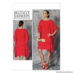 Patron Vogue V1473 : Robe