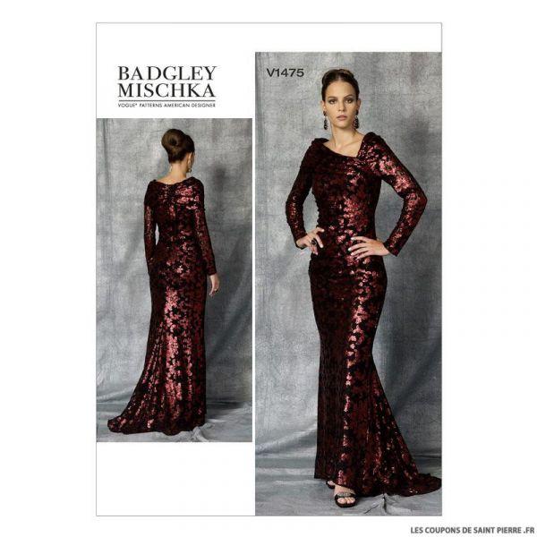 Patron Vogue V1475 : Robe