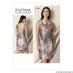 Patron Vogue V1481 : Robe
