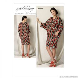 Patron Vogue V1482 : Robe