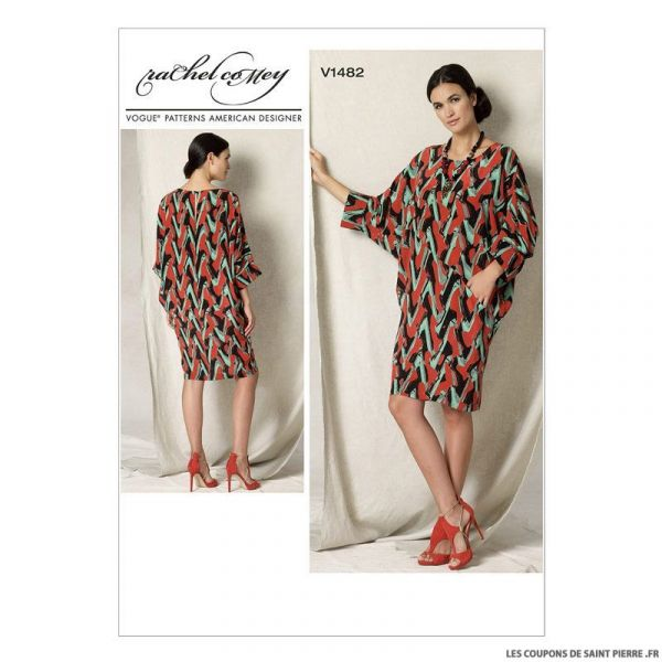 Patron Vogue V1482 : Robe