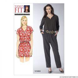 Patron Vogue V1483 : Combinaison
