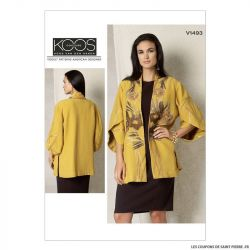 Patron Vogue V1493 : Veste
