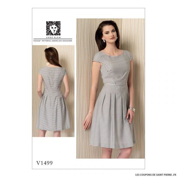 Patron Vogue V1468 : Robe