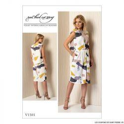 Patron Vogue V1501 : Robe