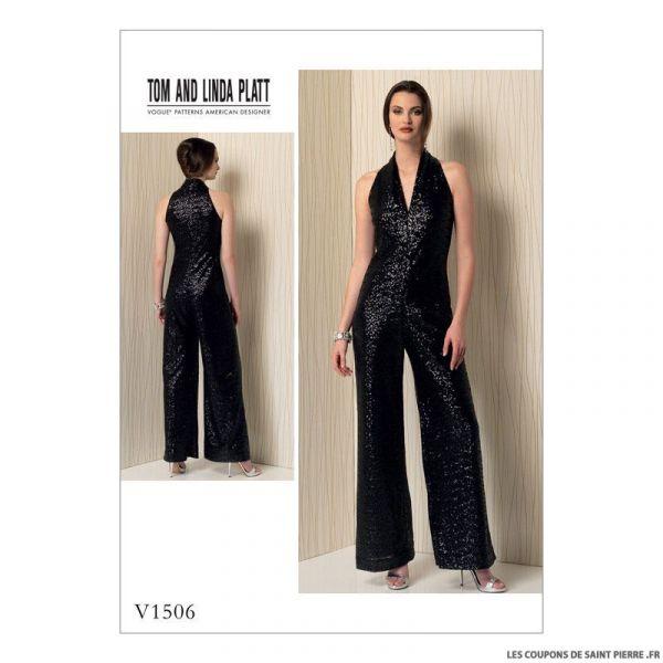 Patron Vogue V1506 : Combinaison
