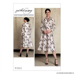 Patron Vogue V1511 : Robe