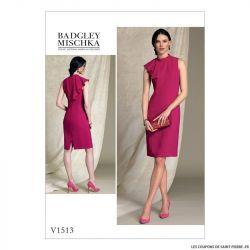 Patron Vogue V1513 : Robe