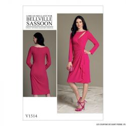 Patron Vogue V1514 : Robe