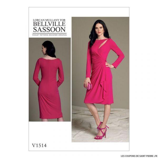 Patron Vogue V1514 : Robe