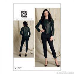 Patron Vogue V1517 : Veste et pantalon