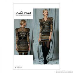 Patron Vogue V1518 : Robe