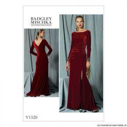 Patron Vogue V1520 : Robe