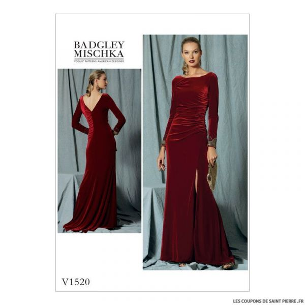 Patron Vogue V1520 : Robe