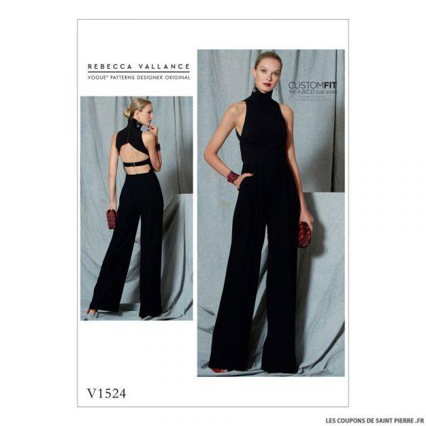 Patron Vogue V1524 : Combinaison