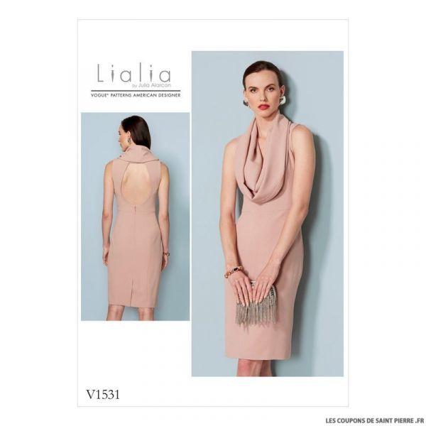Patron Vogue V1531 : Robe
