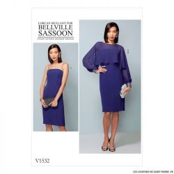 Patron Vogue V1532 : Robe