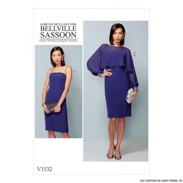 Patron Vogue V1532 : Robe