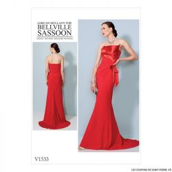 Patron Vogue V1533 : Robe