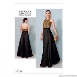 Patron Vogue V1534 : Robe