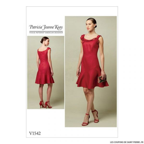 Patron Vogue V1542 : Robe