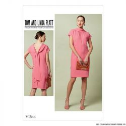 Patron Vogue V1544 : Robe