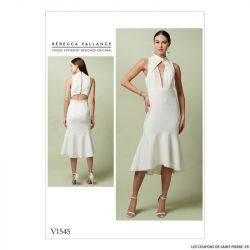 Patron Vogue V1545 : Robe